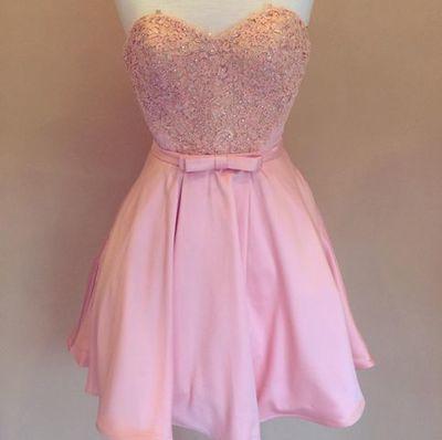 Charming Prom Dress,Sleeveless Backless Cute Prom Dress,Mini Prom