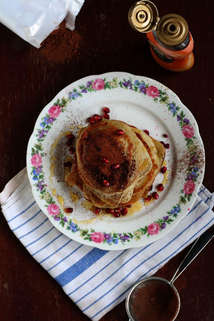 Wegan Nerd - Kuchnia roślinna : PANCAKES! AMERYKAŃSKIE NALEŚNIKI