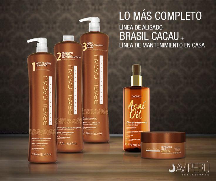 Nos preocupamos por brindarles productos de buena calidad reconocidos a nivel mundial, como lo son BRASIL CACAU, PLÁSTICA ARGILA Y AÇAÍ OIL. www.brasilcacauperu.com.pe