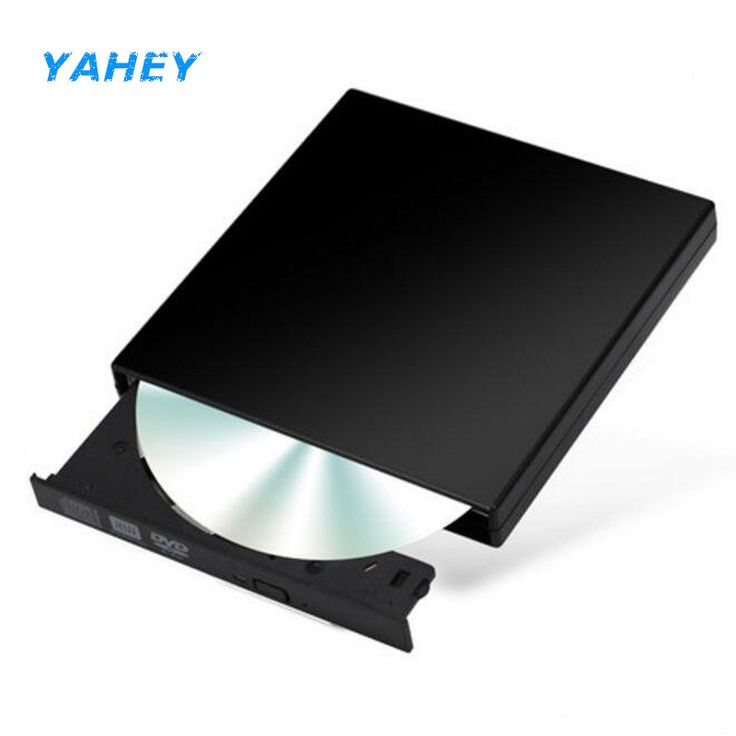Portable External Optical Drive USB 2.0 DVD Drive CD/DVD ROM Player DVD-RW Burner Writer Recorder for Laptop Computer PC Windows