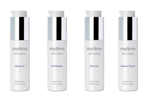 Wil je een doeltreffende verzorging voor je gezicht: Deze anti aging lijn van Mylène cosmetics is echt een aanrader!