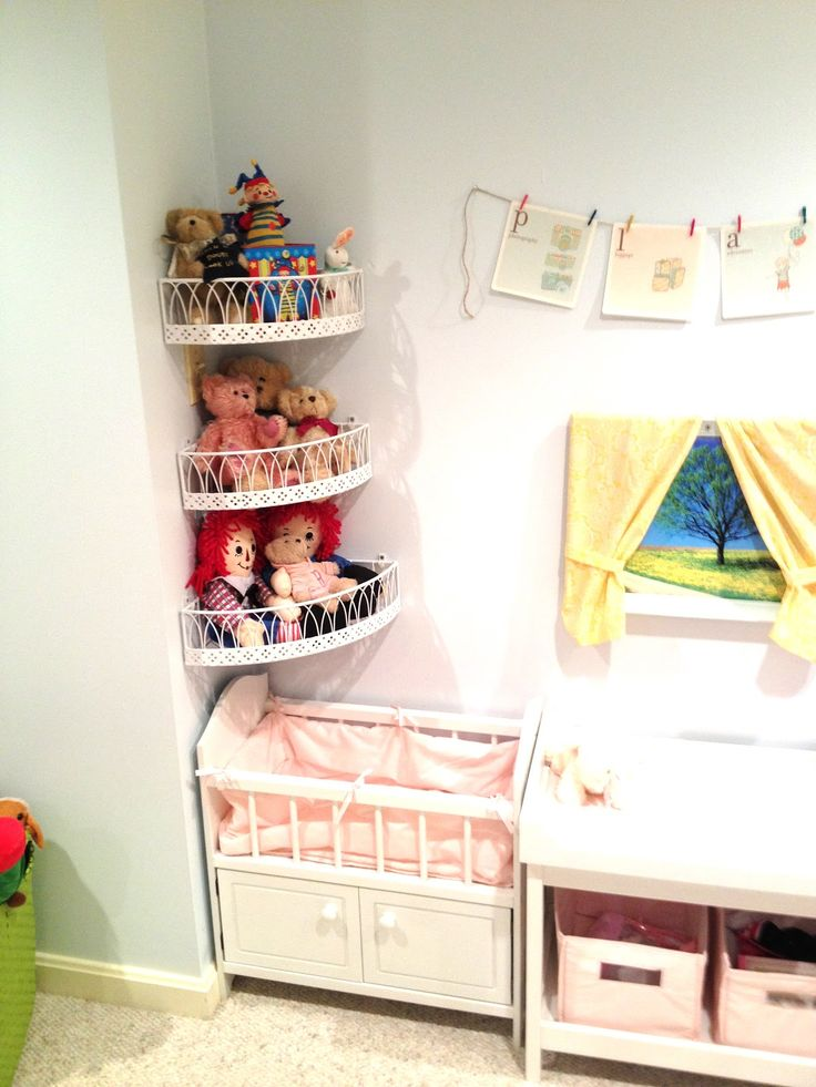 Adventures in Tullyland: Project Playroom: Storage