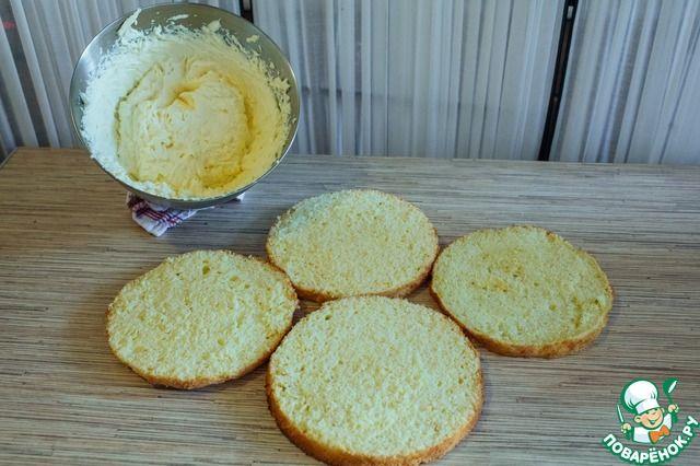 Лимонный шифоновый бисквит ингредиенты