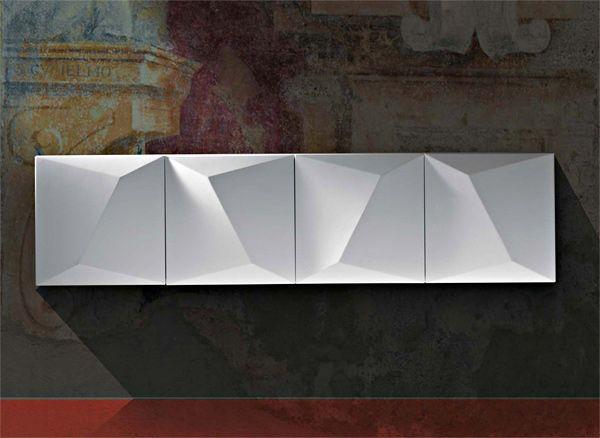 Property Furniture -Prisma cabinet designed by Claudio Lovadina