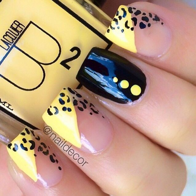 Love these #promcrazy nails!