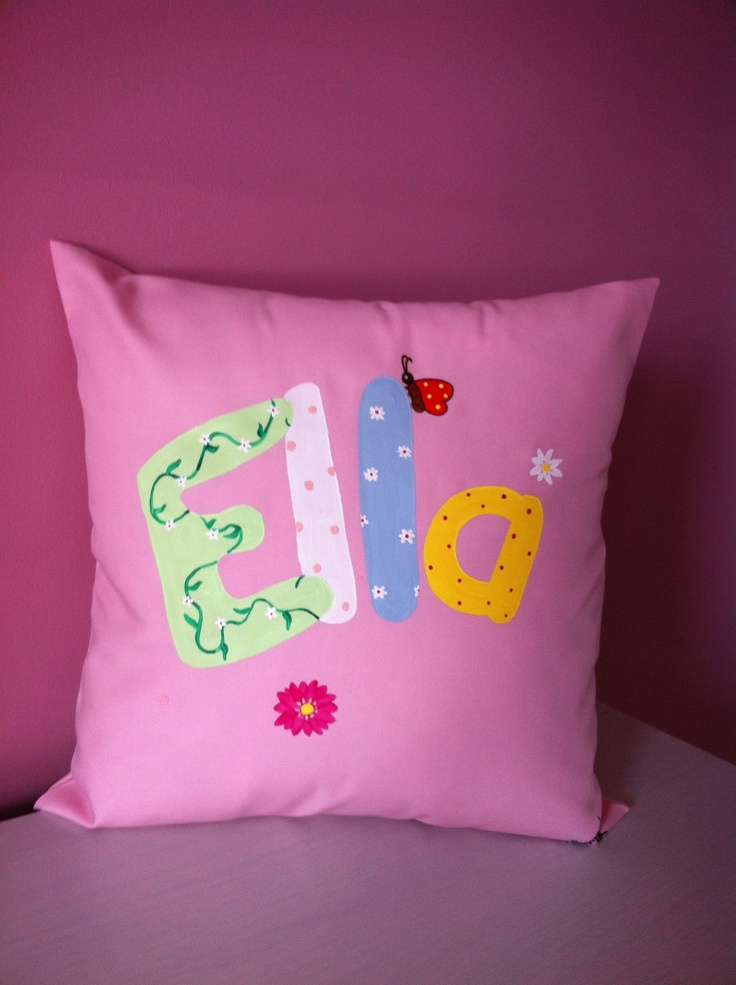 Gorgeous cushion for Ella to snuggle up to.