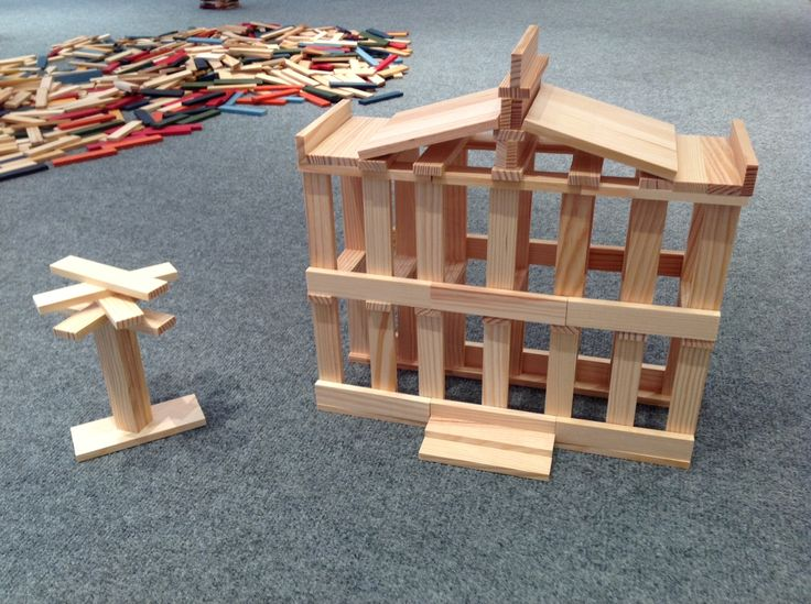 The famous 100 block KAPLA mansion. #kids #parents # K12 #toys #gifts