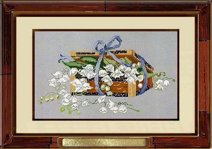 Gallery.ru / Фото #13 - Цветы(схемы) - IrMa77