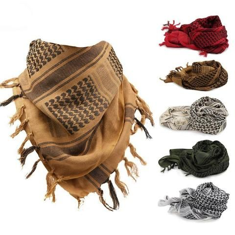 Tactical Cotton Shemagh Scarf For Outdoor Use - Ninjutsu Tactical, Bulletproof, waterproof, hunting, military, tactical, law enforcement, edc, gear, camping, outdoors, prepping, survival Ninjutsu Tactical - Ninjutsu Tactical