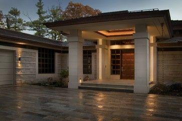 Bronze clad windows and doors - contemporary - windows - detroit - Grabill Windows & Doors