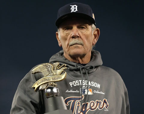 The skipper....Jim Leyland - 3 consecutive Central Division titles and 2 American League pennants with the Detroit Tigers. Fourth best manager in Tiger history. imo, one of the best managers in the game today. Thanks Jim for restoring baseball and pride back to the city of Detroit.