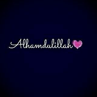 Allhamdulillliah 4 evrything.....
