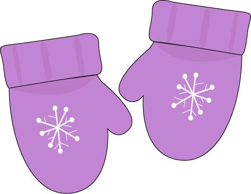 Purple Mittens