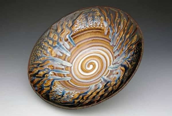 """""""Earth, Wind & Fire Bowl"""" by Bill Campbell"""