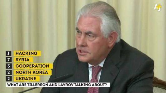 NOW: Tillerson & Russian counterpart Sergey Lavrov speak after meetings in Mosco #news #alternativenews