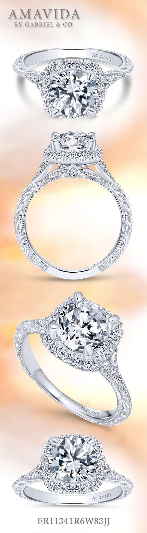 best vintage wedding and engagement rings images on pinterest