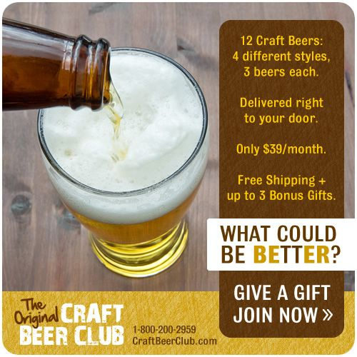 The Perfect Gift for Craft Beer Lovers! | Craft Beer Club ...