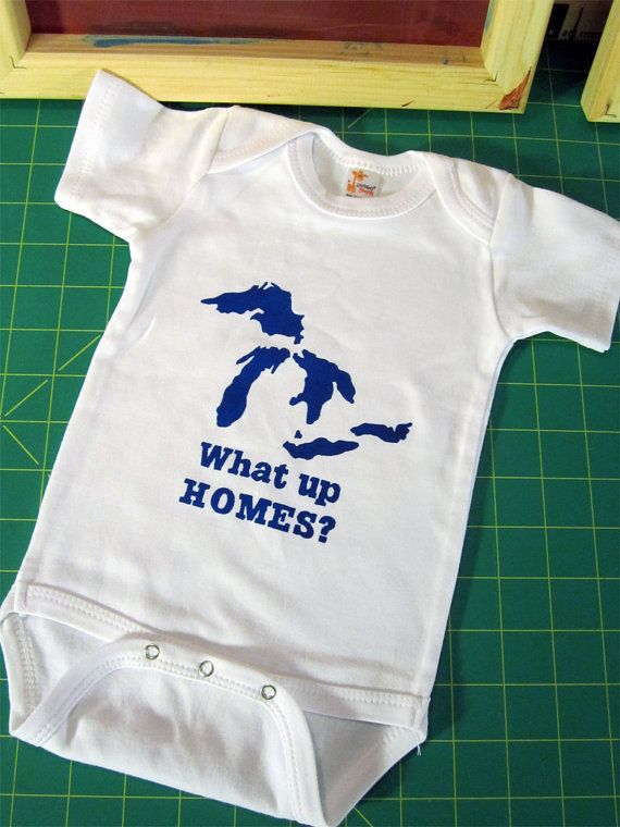 What Up HOMES Great Lakes Pick Your Size by FourEyesHandmade