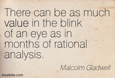 """""""Blink"""" by Malcolm Gladwell – An Incomplete Idea Essay Sample"""