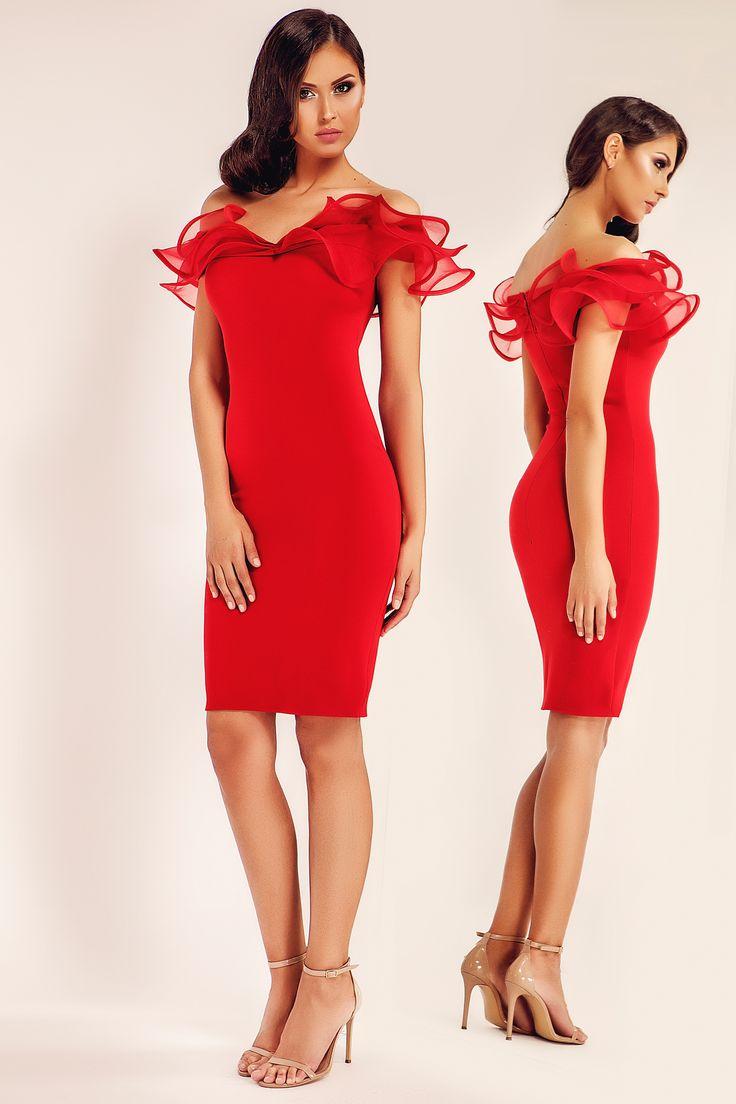 Ana Radu Seductiveness Red Dress