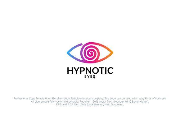 Hypnotic Eye Logo by PC Design on @creativemarket