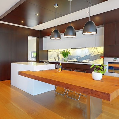 Kitchen Photos Minimalist Timber Design Pictures Remodel