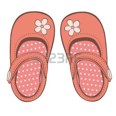 Ilustracion De Hermosos Zapatos De Nina Zapatos Para Ninas Como Dibujar Zapatos Zapatos De Bebe