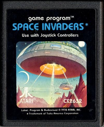 Space Invaders was one of my favorite arcade games. This Atari version did notdisappoint.// ★★★★