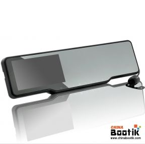 Car Bluetooth Rearview Mirror Kit - GPS, Radar Detector, Dashcam, Parking Camera #GPS #car #parking camera