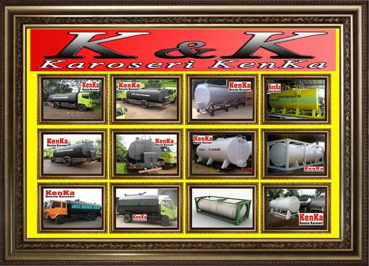 PEMBUAT TRUCK TANGKI ( Vacuum - Pemanas - CPO - Semen - Tinja - Cruide Oil - Lumpur - Tampung ) >> KAROSERI KENKA