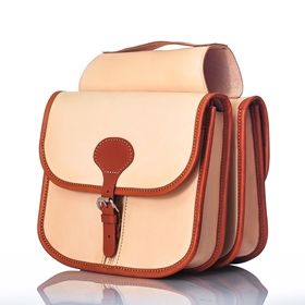 Looking for stylish leather panniers to match the beauty of your classic bicycle? Stop looking:) Double leather panniers Stylish Ride II Premium