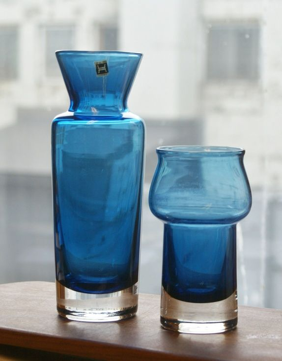 Mountain Blue | Willy Johansson for Hadeland Glassverk