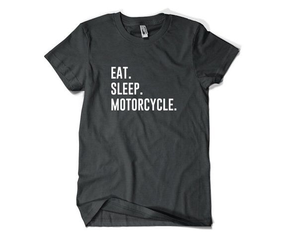 Motorrad T-Shirt-Essen Sie Schlaf Motorrad T Shirt Motorrad Geschenk Männer…