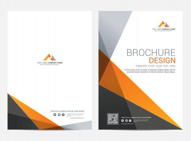 Brochure Template Flyer Design Vector Background Brochure Template Flyer Design Brochure