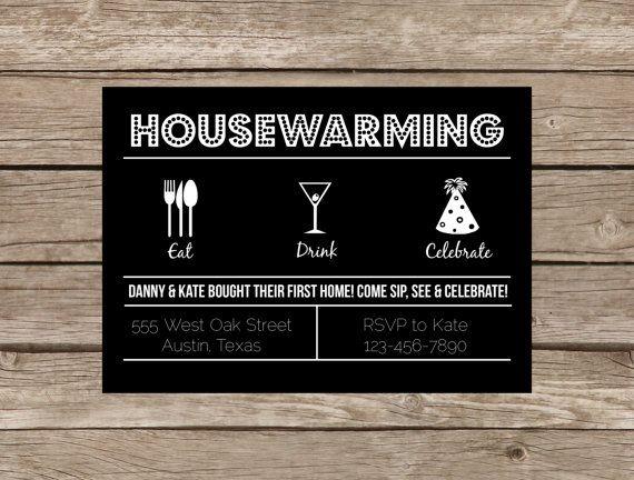 25 best ideas about Housewarming invitation wording – Housewarming Party Invitations