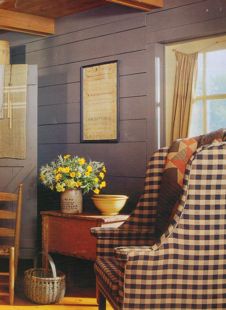 Colonial Interior Design | Early American Interior Design | Primitives