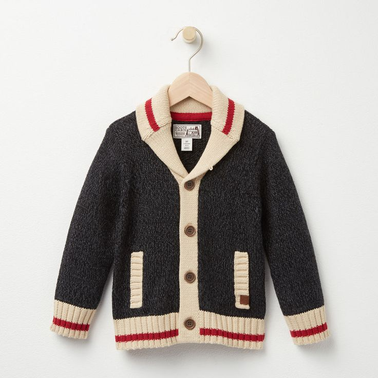 Toddler Roots Cabin Shawl Cardigan | Roots