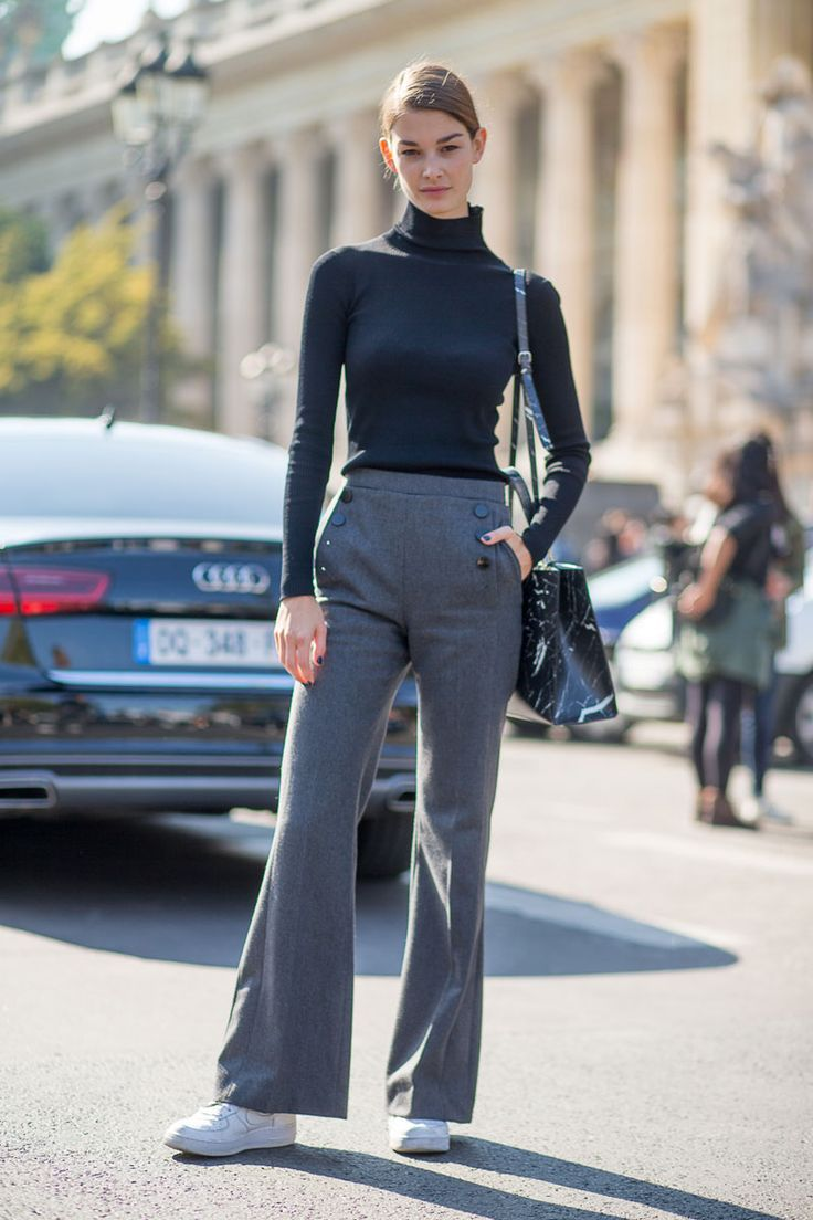 When it comes to Parisian dressing, the simpler the better. Keep accessories to a minimum and don't overload your ensemble with too many pieces. Part of the appeal of French style is that it looks so effortless.   - HarpersBAZAAR.com