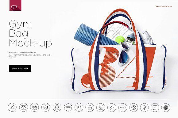Gym Bag Mock-up
