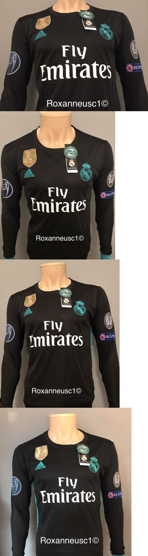 Keylor navas pays tribute to cristiano ronaldo sports mole - Men 123490 Cristiano Ronaldo 2017 2018 Real Madrid Long Sleeve Away Jersey Champions League