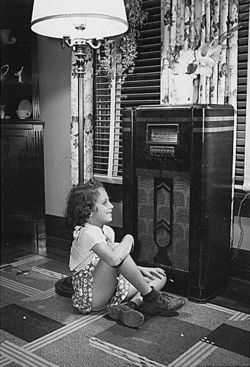 From the 1920's to the 1950's Radio had it's Golden age; where everyone had at least one. It was a time that brought family together as the would all gather around and listen to talk shows.