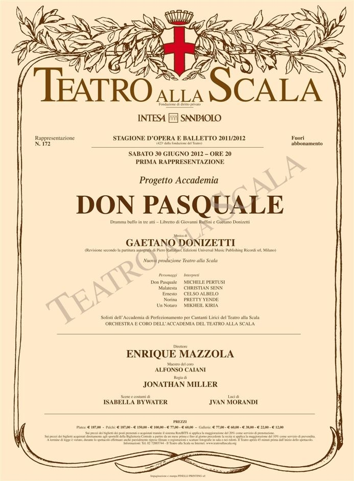 Don Pasquale - 30/06/2012