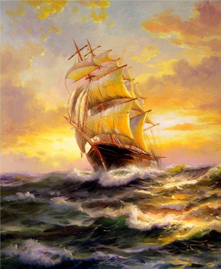 картины кораблей маслом: 19 тыс изображений найдено в Яндекс.Картинках