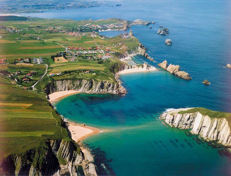 Parque Natural de las Dunas de Liencres .- Diez acantilados espectaculares de España que quitan el hipo