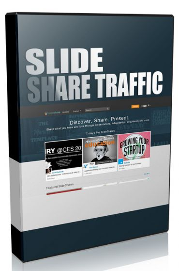 Slide Share Traffic  Slide Share has 60 million monthly visitors, 100 million page views per month and is amongst the 200 most visited websites in the world with numbers ever increasing.