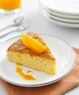 Torta proteica alle arance
