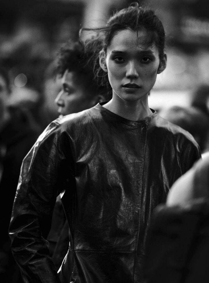 Tao Okamoto by Peter Lindbergh for Vogue Italia October 2016