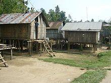 Khasi (Ethnie) | Häuser eines Khasi-Stammes in Jaflong ( Region Sylhet in Bangladesch ...