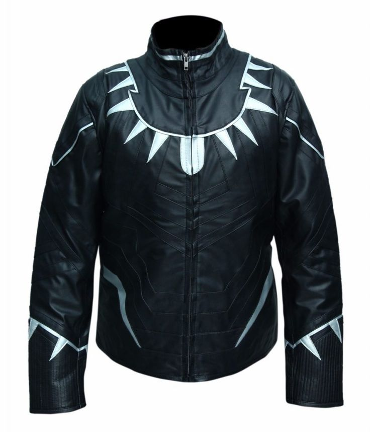 "He is a superhero, and he is the king of Wakanda. This costume was worn by Black Panther ""Chadwick Boseman"" in Hollywood famous comic movie ""Captain America: Civil War"" 2016. This custom jacket is made..."