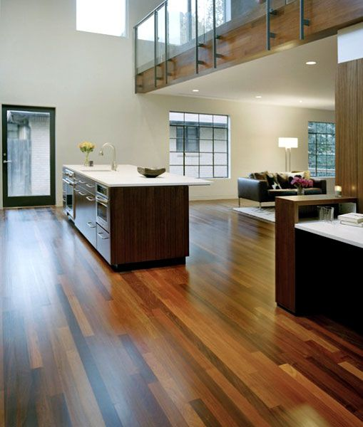 Alter And The Residents Chose To Utilize Ipe, An Ultra Durable Brazilian  Hardwood, For The Interior Flooring And Second Story Exterior Paneling.